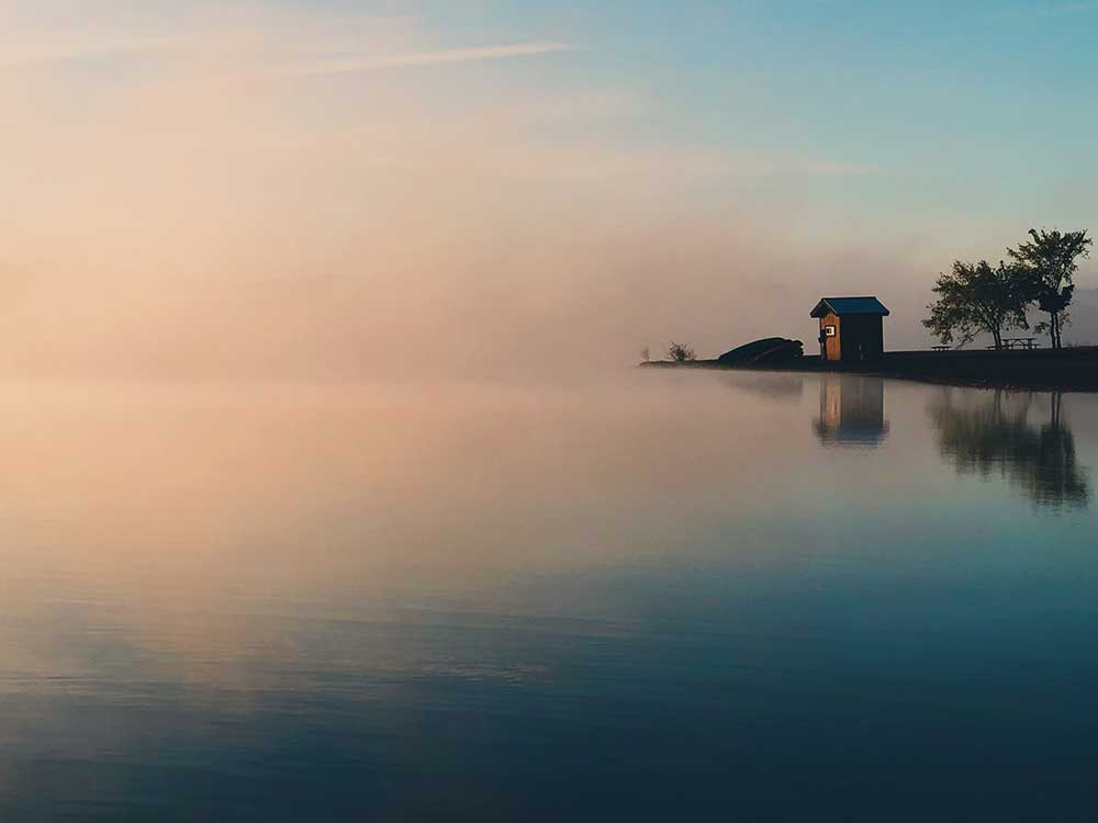 Calm water photo